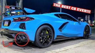 REVEALING THE WORLD'S LOUDEST C8 CORVETTE!!! FT. OEM Carbon Fiber Ground Effects InsTall!