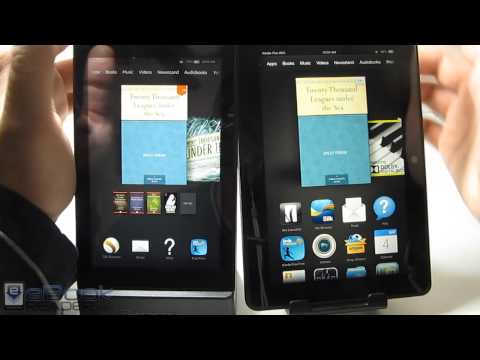 Fire HD 6 vs Fire HDX - Kindle Tablets Compared
