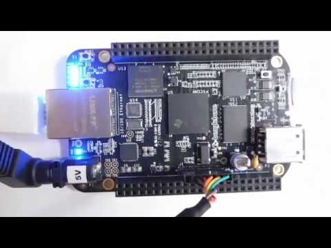 BeagleBone Black eMMC Flashing - Cyclone Sweep Pattern