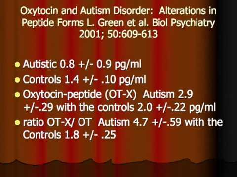 Treating Autism with Oxytocin