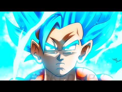 GOGETA SSJ BLUE ARRIVE DANS LE FILM BROLY GOD DRAGON BALL Z EN 4D ! (DBZ / DBS) - PasLeTemps#84
