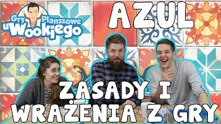 AZUL - rodzinna gra logiczna z Portugalią w tle :)