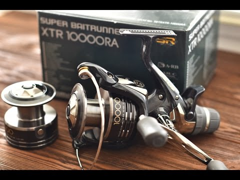 Shimano Baitrunner XT RA 8000 Carp Reel Review from YouTube · Duration:  1 minutes 3 seconds