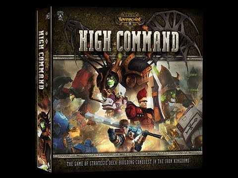 Warmachine: High Command review - Board Game Brawl