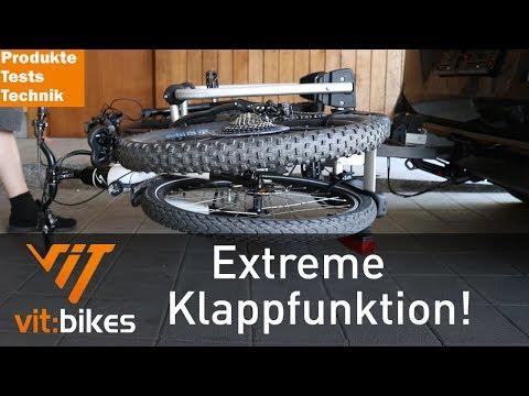 Uebler I21 Fahrradträger Für Die Anhängerkupplung - Vit:bikesTV