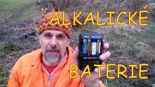 Nabíjení alkalických baterií