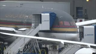 1st Royal Jordanian 787 Dreamliner Parked on the Flightline @ KPAE Paine Field