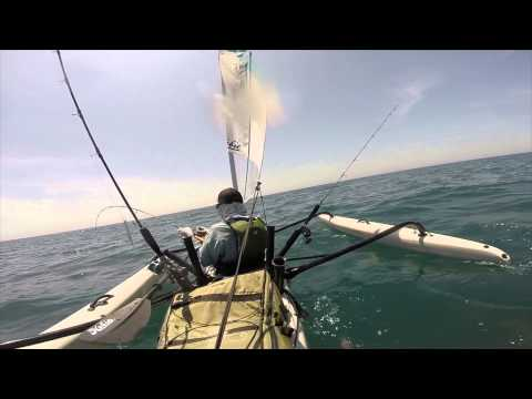 Open Water - Offshore Kayak Fishing in the Hobie Adventure Island