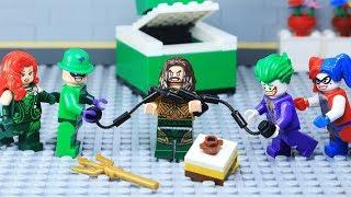 Lego Superhero Aquaman - King of Atlantis Escape from Villain