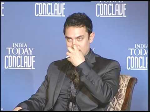 India Today Conclave: Q&A with Aamir Khan And James Cameroon