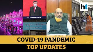Covid update: Ayodhya priest worried; South Korea on India, vaccines; gym rules
