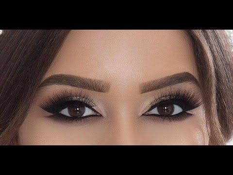 Красивый макияж в домашних условиях для карих глаз с фото