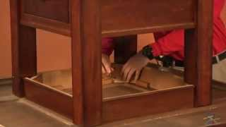 Assembly Video Breakfast Nook - Table Base