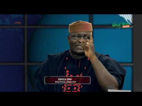 CROSSFIRE -  ANTI-GRAFT WAR: SYSTEMIC OR PERSONALITY   Wazobia Max
