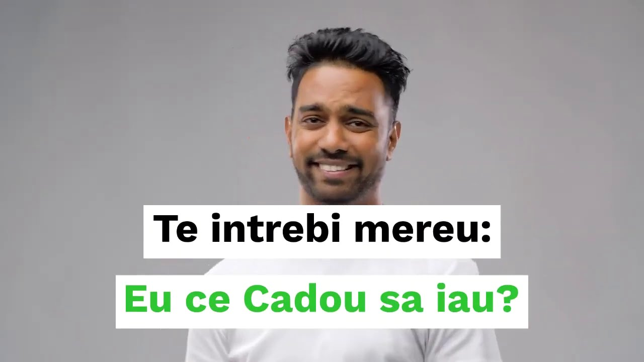 Ce sa fac Cadou? Intra pe Mindblower.ro Avem sute de idei.