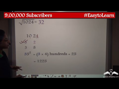 Finding Square And Square Roots Using Vedic Maths