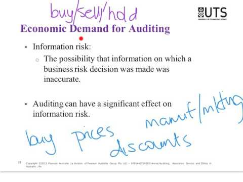 Lecture 1 - Overview and audit reporting