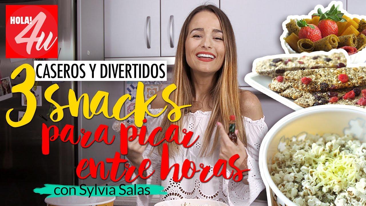 3 snacks f ciles y deliciosos para picar entre horas con - Sylvia salas ...