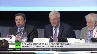 German MEP: EU negotiators are punishing UK
