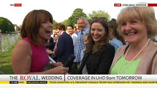 sky news live from windsor royal wedding 2018 18th may 2018
