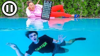 Download $10,000 PAUSE CHALLENGE!! (UNDERWATER) Mp3 and Videos