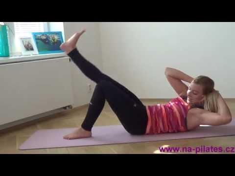 Na Pilates: cviky na břicho, hýždě, zadní stehna