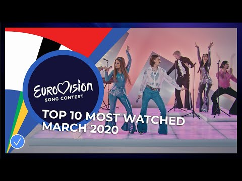 TOP 10: Most Watched In March 2020 - Eurovision Song Contest
