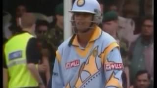 Rahul Dravid 145 vs Sri Lanka World Cup 1999 highlight - HQ