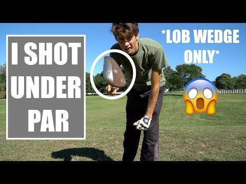 60 Degree Lob Wedge Only Challenge - GM GOLF