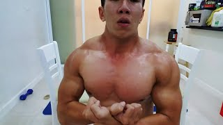 Tập Bài Gì MAU LÊN CƠ NGỰC NHẤT TẠI NHÀ - Tập GYM ngày Tết cùng HLV Ryan Long Fitness
