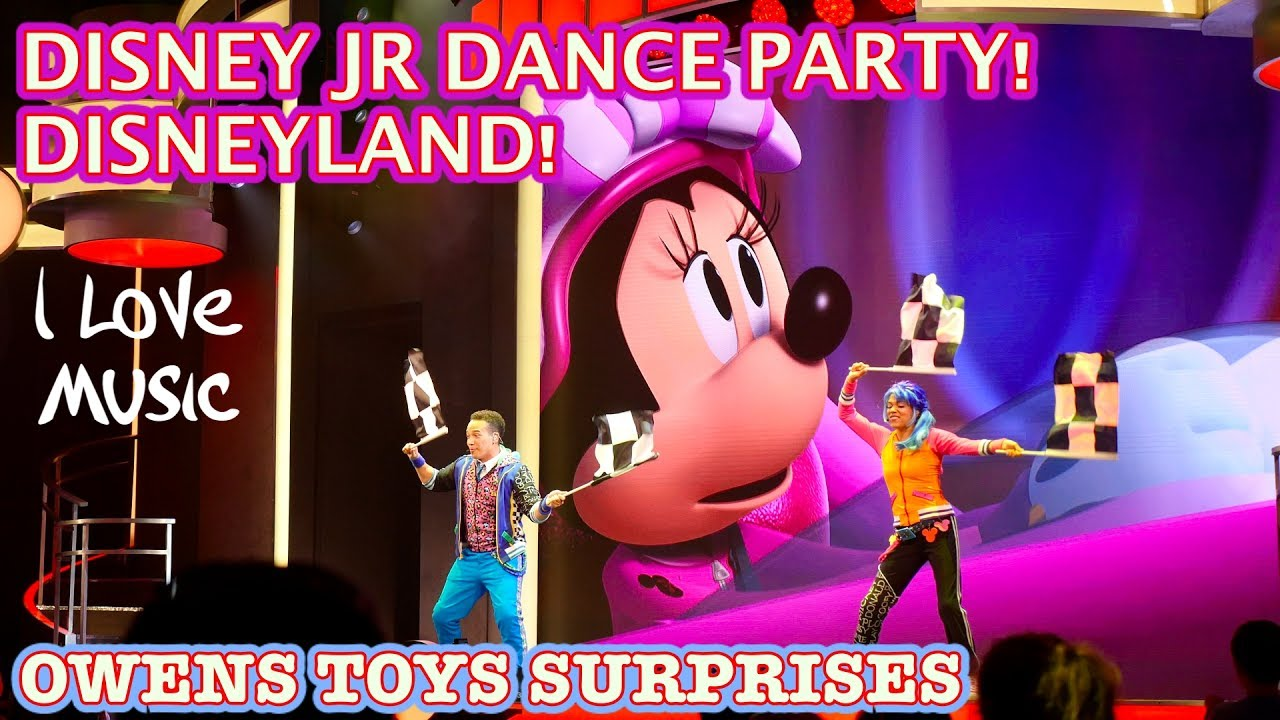 446b5bd3227 DISNEY JR DANCE PARTY! DISNEYLAND! MICKEY AND THE ROADSTER RACERS ...