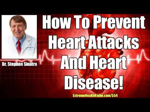 Dr. Stephen Sinatra - How To Prevent Heart Attacks, Heart Disease & How To Keep Your Heart Healthy!