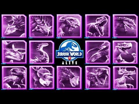 Como Crear Dinosaurios Hibridos En Jurassic World Alive Todos Los Hibridos Mejoress Com Y no solo eso, también podremos hacernos con el adn de cada dinosaurio que capturemos e intentar crear híbridos y nuevas especies. en jurassic world alive todos
