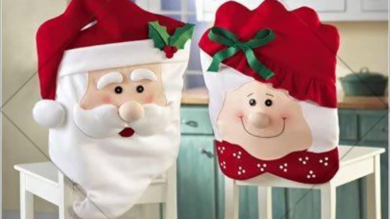 Ideas para decorar sus sillas esta navidad youtube - Ideas para decorar estrellas de navidad ...