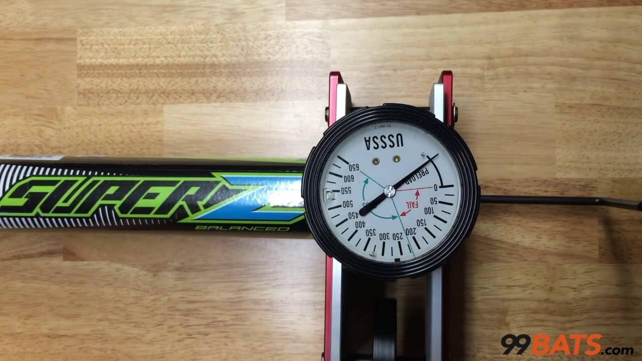 b9fd51c06e6 Louisville Slugger 2016 Super Z ASA Balanced Slowpitch Softball Bat -  Compression Test