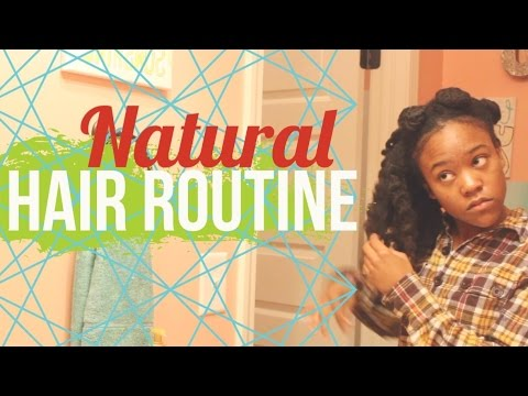 How to Detangle and Style Long 4c Natural Hair | Bantu Knot Out