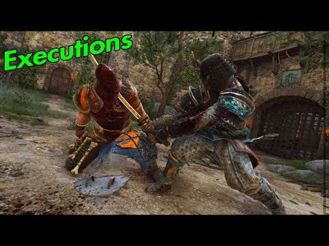EXECUTIONS with OROCHI - For Honor Marching Fire |