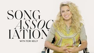 Tori Kelly Sings Ariana Grande, Beyoncé and Nelly in a Game of Song Association | ELLE