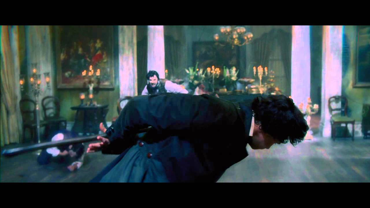 A Scene From Abraham Lincoln Vampire Hunter Youtube