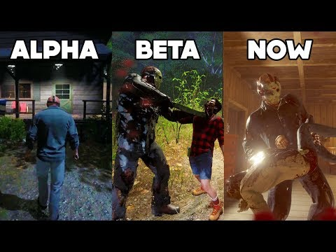 Friday The 13th: The Game Was A DOWNGRADE? (Alpha, Beta, Full Release)