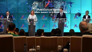 2018/10/19: Trade disputes: China-EU against US? | Is multilateralism at stake?