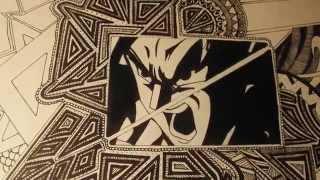 DragonBall-Z Drawing [HD] Go Pro - Goku Resimi