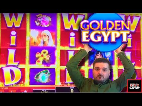 Let's Take A Trip Down The Nile - Golden Egypt Slot Machine Live Play