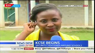 News Centre - 6th November 2017 - KCSE BEGINS: Over 600,000 students write exams