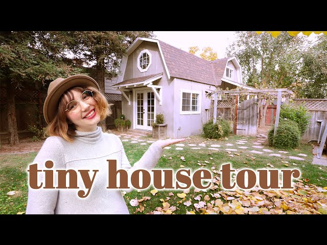 TINY HOUSE TOUR | couple lives in 415 sq. ft.