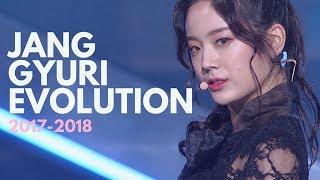 Fromis_9 Jang Gyuri Evolution (Idol School - Fromis_9 - Produce 48) 프로미스나인 장규리 파트모음