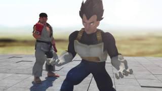 Ryu vs Vegeta