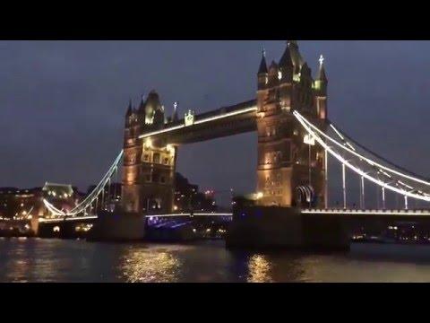 London Tower Bridge Night View - London, UK