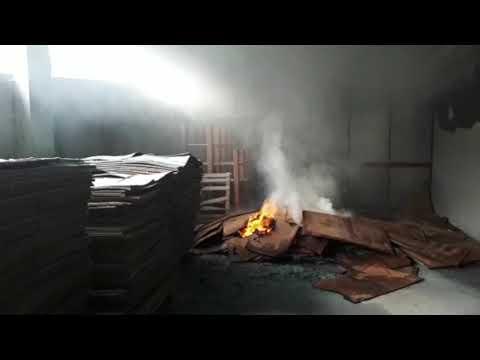 Se registra un pequeño incendio en el Pazo de Feiras e Congresos de Lugo
