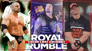 EVERY LAST ENTRANT IN THE ROYAL RUMBLE MATCH (1988-2018)